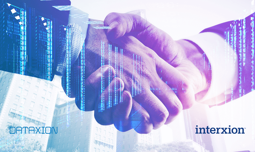 Interxion et DataXion signent un partenariat
