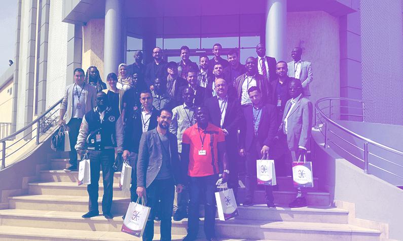 Visite de la délégation étrangère