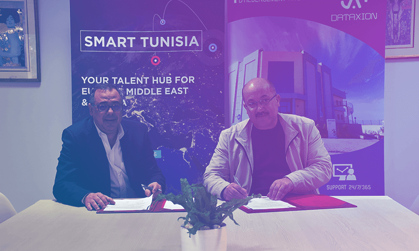 DataXion adhère au programme Smart Tunisia