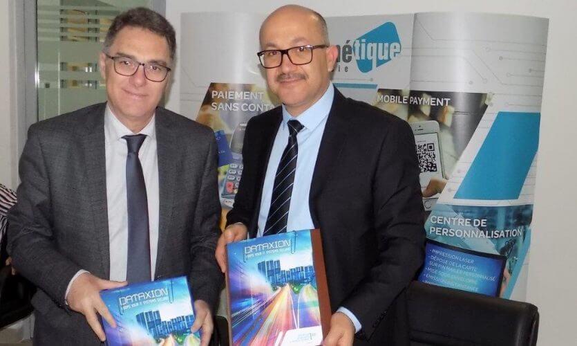 Signature d'une convention de partenariat entre DataXion et la Société Monétique Tunisie
